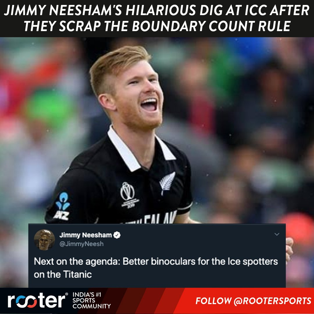 Jimmy Neesham doing what he does best   #JimmyNeesham #ICC #ICCRules <br>http://pic.twitter.com/CyiEwehY4N