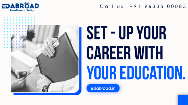 Set - Up your career with your education Call : 9633500085 Visit : http://edabroad.in #Edabroad #StudyAbroad #Study #Abroad #Work #Stay #Settle #opportunity #career #future #IELTS #university #education #Stayback #consultant #expert #Canada #Europe #New_Zealand #UK #France