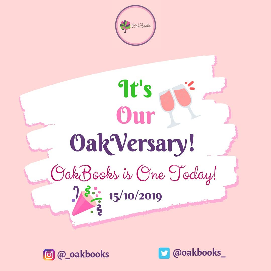 We declare that today is a national holiday! It's our OakVersary! OakBooks is ONE!                   Here's how you can celebrate with us! A THREAD!  #WritingCommunity #writerslife<br>http://pic.twitter.com/DJUiCO1dcP