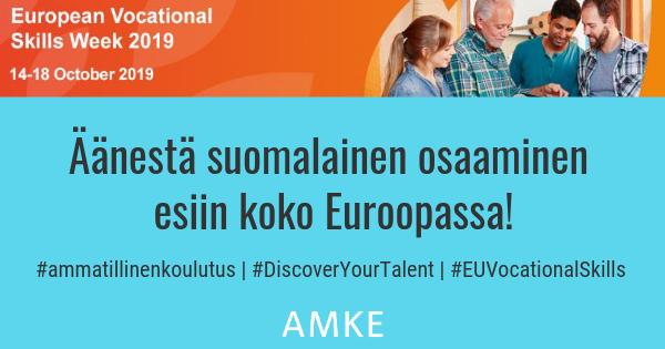 Yrittäjämäinen tekeminen on tulevaisuuden työelämätaito. Yrittäjyysopintojen ekosysteemimme ehdolla Euroopan parhaaksi. #yrittäjyys #ammatillinenkoulutus #DiscoveryYourTalent #EUVocationalSkills #gradiafi