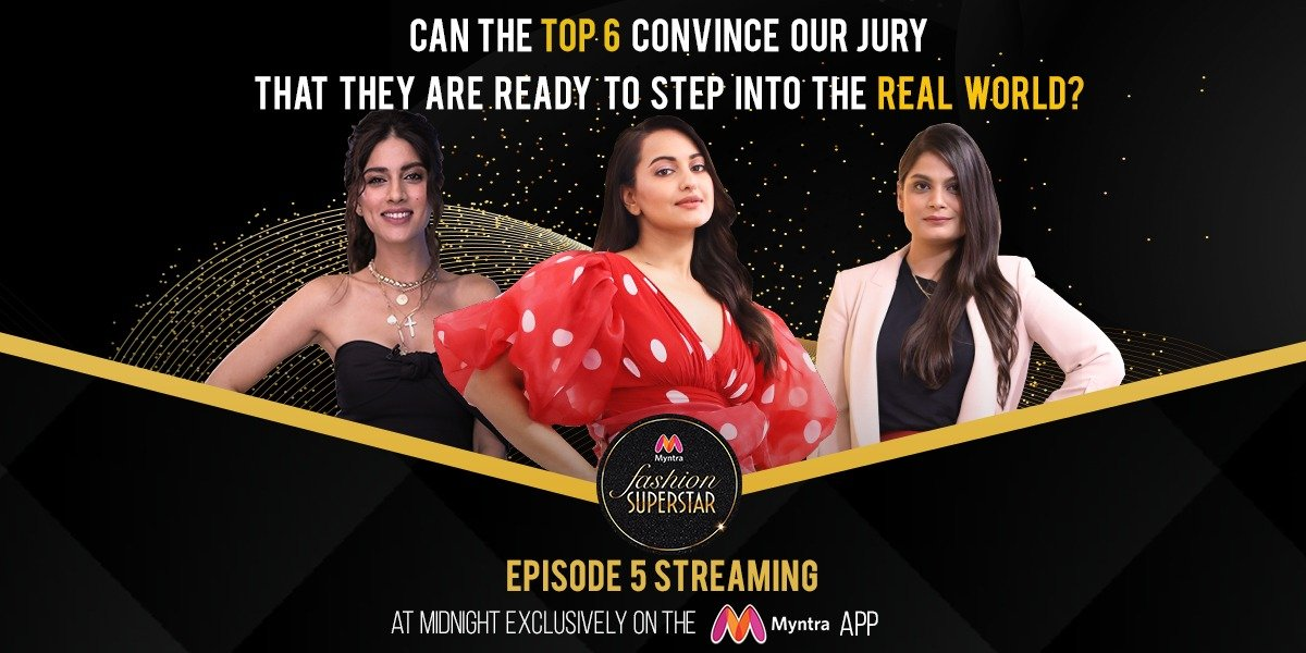 Will our top 6 convince our jury that they are indeed ready to step in to the real world?  Come, find out!  Episode 5 streaming at midnight exclusively on the Myntra App  Find all episodes right here- http:// bit.ly/2VFgKPH     @sonakshisinha   #MyntraFashionSuperstar #StayStylish<br>http://pic.twitter.com/B6xYIhs5Ri