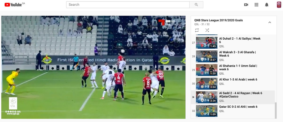 Watch the goals from all #QNBstarsLeague matches on our YouTube channel    ⁦ http:// bit.ly/2kkBNJ9     <br>http://pic.twitter.com/dmpgjnOnAc