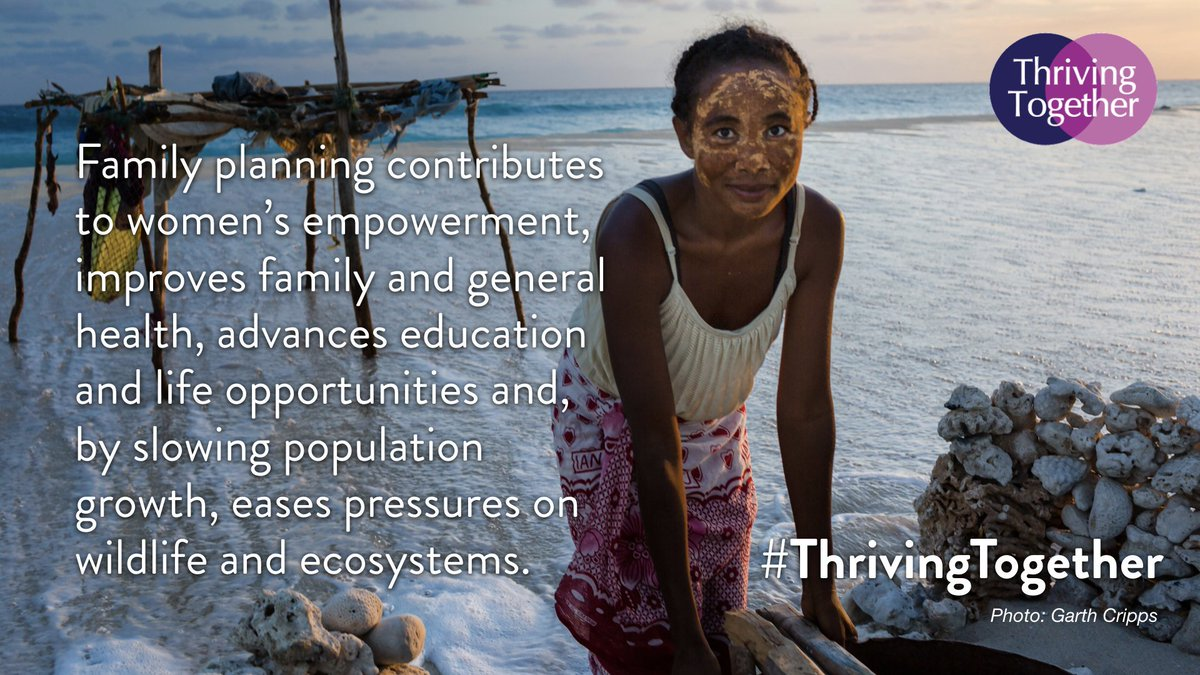 The focus for #WorldPopulationDay shouldn't just be on people. Human health is inextricably linked with planetary health. Learn more about the importance of people, health, planet work done by PRB, @MargaretPyke, & many more w/ #ThrivingTogether: http://bit.ly/2XWSPgi