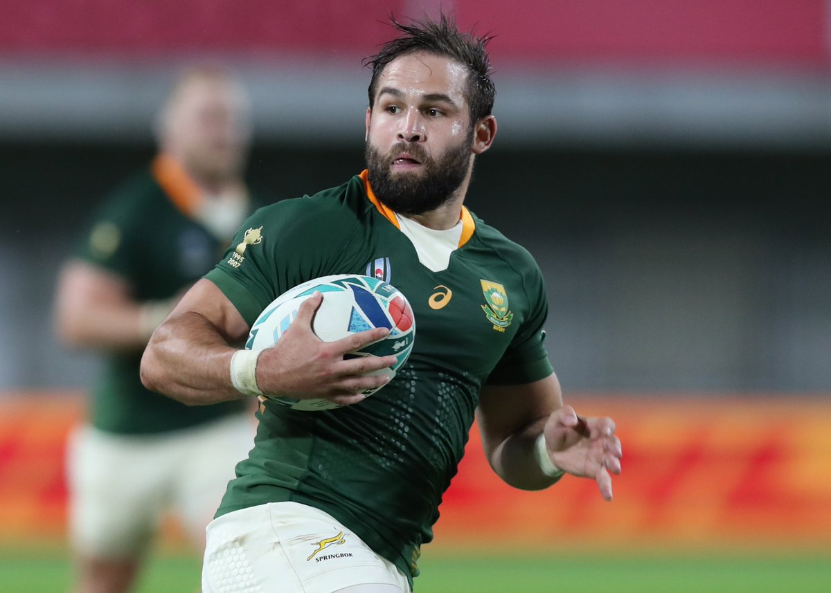 Today we look back at the #RSAvCAN game and the man who made it so special. Cobus Reinach grabbed the attention of rugby fans around the world after scoring the fastest hat trick in RWC history! He gets out #TryTuesday shoutout this week.