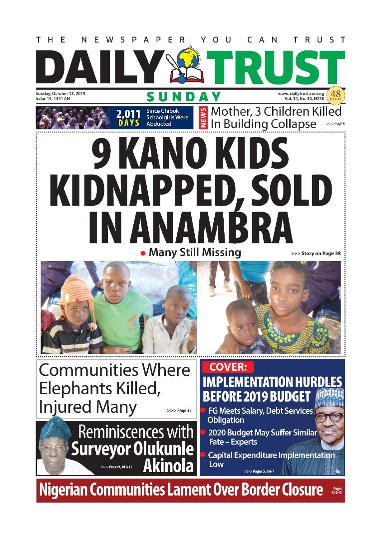 This is serious, extremely tragic and cruel. And, it should be entirely condemned by all. I am sure the @PoliceNG, @naptipnigeria and other relevant agencies are intensifying their efforts to rescue the remaining captives. Supporting the #JusticeForKano9 calls.<br>http://pic.twitter.com/GZNlbm9mqv