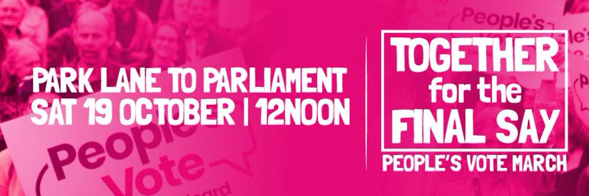 Can't afford the journey to the march in London this Saturday? Direct message me as we have donations to cover free seats on coaches from Didcot/Wallingford. Or you can message me through the Eventbrite listing https://www.eventbrite.co.uk/e/let-us-be-heard-peoples-vote-london-march-19-october-2019-coach-travel-tickets-69645709191?ref=eios … @OpenBritOX10 @PV_Wantage @peoplesvote_uk