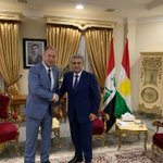 Image for the Tweet beginning: Minister @joachimstamp in #Bagdad und