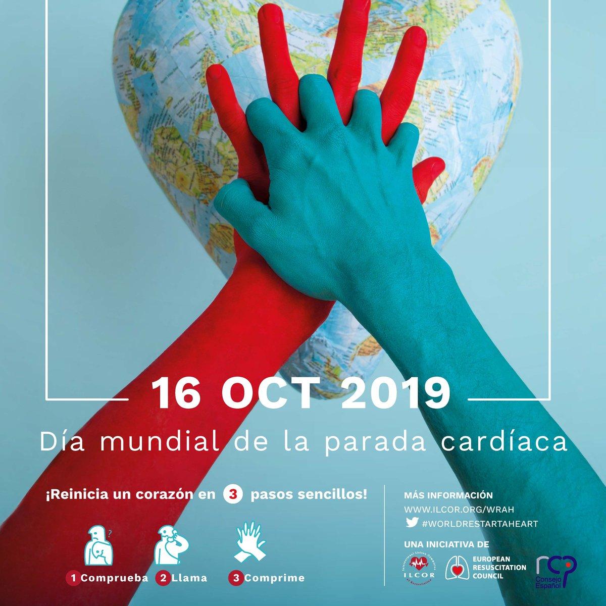 """test Twitter Media - Mañana se celebra el #Día_Europeo_Concienciación_Paro_Cardíaco 💔. El  @sanidadgob organiza la jornada """"AUMENTAR LA SUPERVIVENCIA ES POSIBLE""""💪. Con un taller práctico sobre el Desfibrilador Externo Automático #DEA. Colabora el  @ConsEspRCP. El programa 👇https://t.co/Z3xKtXKy2C https://t.co/Ja4wllBZOf"""