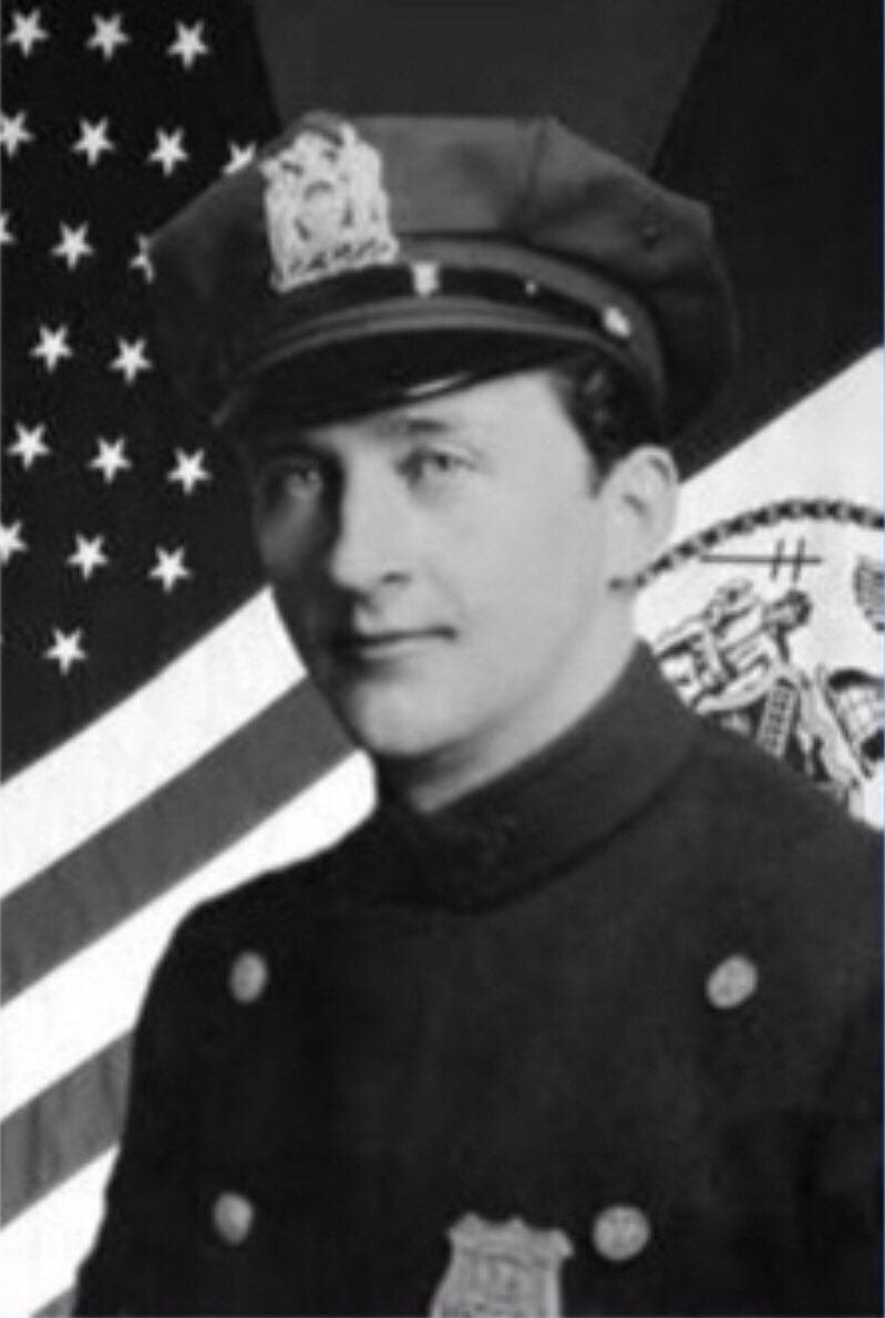 Today, 26 years after his death and nearly 68 years after he was paralyzed by a bullet that later took his life, the NYPD remembers the service and ultimate sacrifice of Patrolman William Kennedy of @NYPD10Pct. We vow to #NeverForget. #FidelisAdMortem<br>http://pic.twitter.com/DSQuxPkMGc