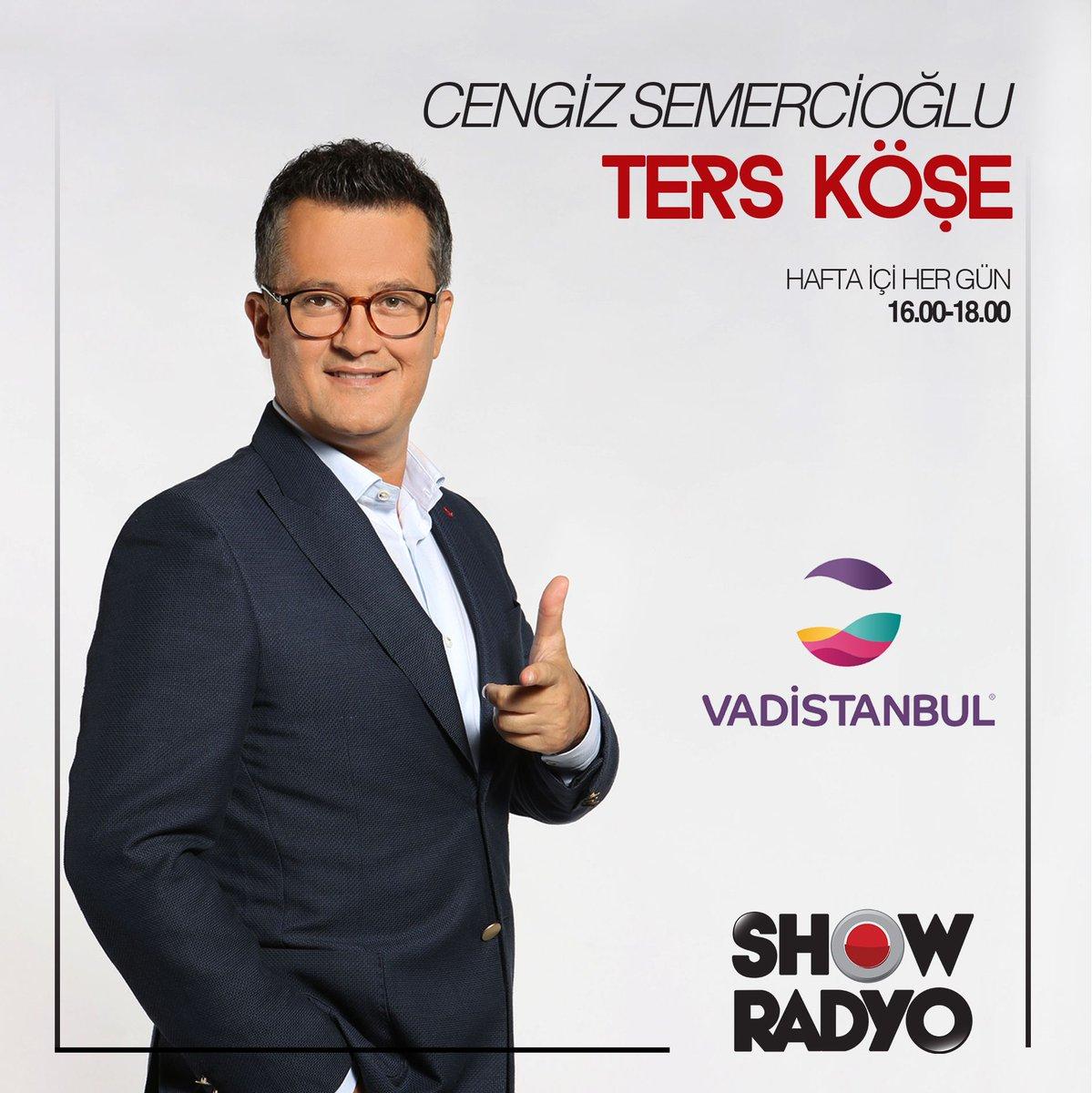 Vadistanbul'un sunduğu Cengiz Semercioğlu ile Ters Köşe yayında! 📸