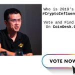 Image for the Tweet beginning: .@cz_binance dominates headlines, but is