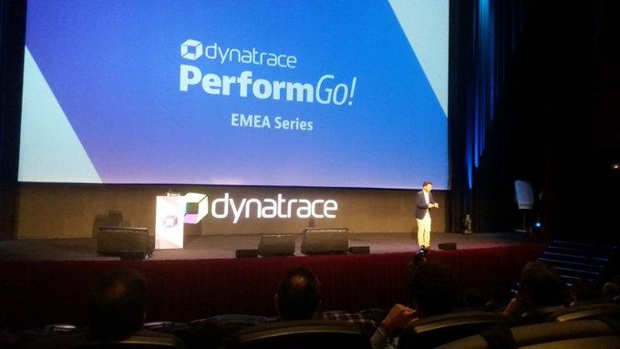 Hoy acompañamos a @Dynatrace en el #PerformGO #Madri...