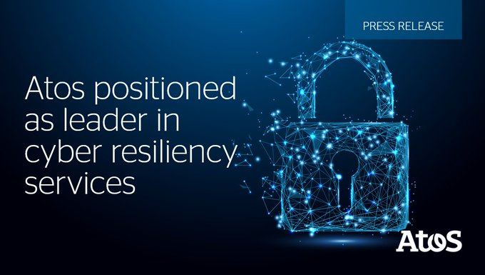 We're proud to announce that we have been positioned as a #Leader in #CyberResiliency...