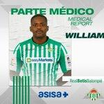 Image for the Tweet beginning: 🚑 PARTE MÉDICO | William