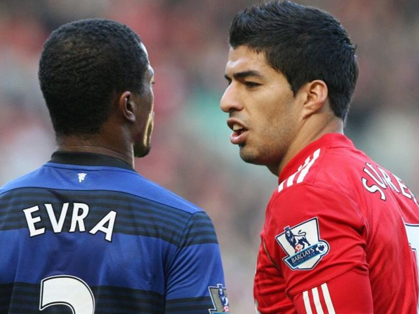 Eight years ago today Suarez and Evra met at Old Trafford Heres @TonyEvans92a on how an incident and the reaction to it set the tone for a world where racism thrives bit.ly/2piE49R