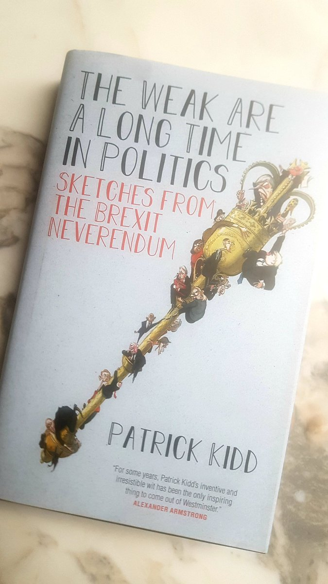 If, like me, you miss reading @patrick_kidds parliamentary sketches on a daily basis in @thetimes, buy this wonderful compendium of his best ones. Gems in every paragraph. twitter.com/patrick_kidd/s…
