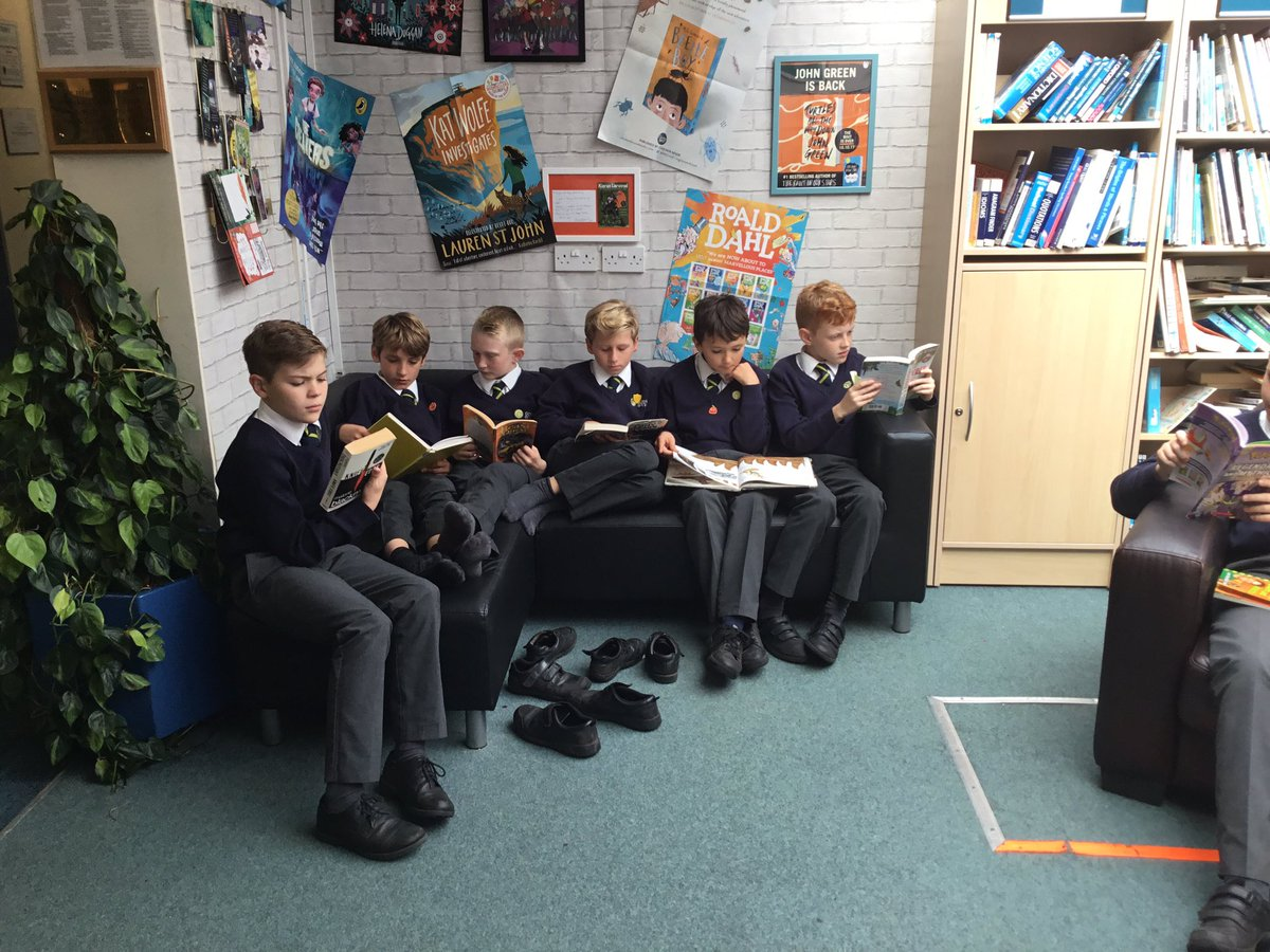test Twitter Media - Our new Reading Ambassadors overseeing borrowing/returning books during our library time #gorseybookclub #gorseycomputing https://t.co/oIBcSTlZBw