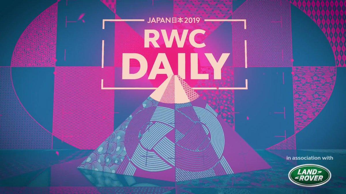 RWCデイリー/エピソード25💁 イングランド代表の選手の素顔に迫ります🏴 福岡堅樹のトライや、ウィルキンソンの雪上ラグビーも⛄ #RWC2019 @LandRoverJPN