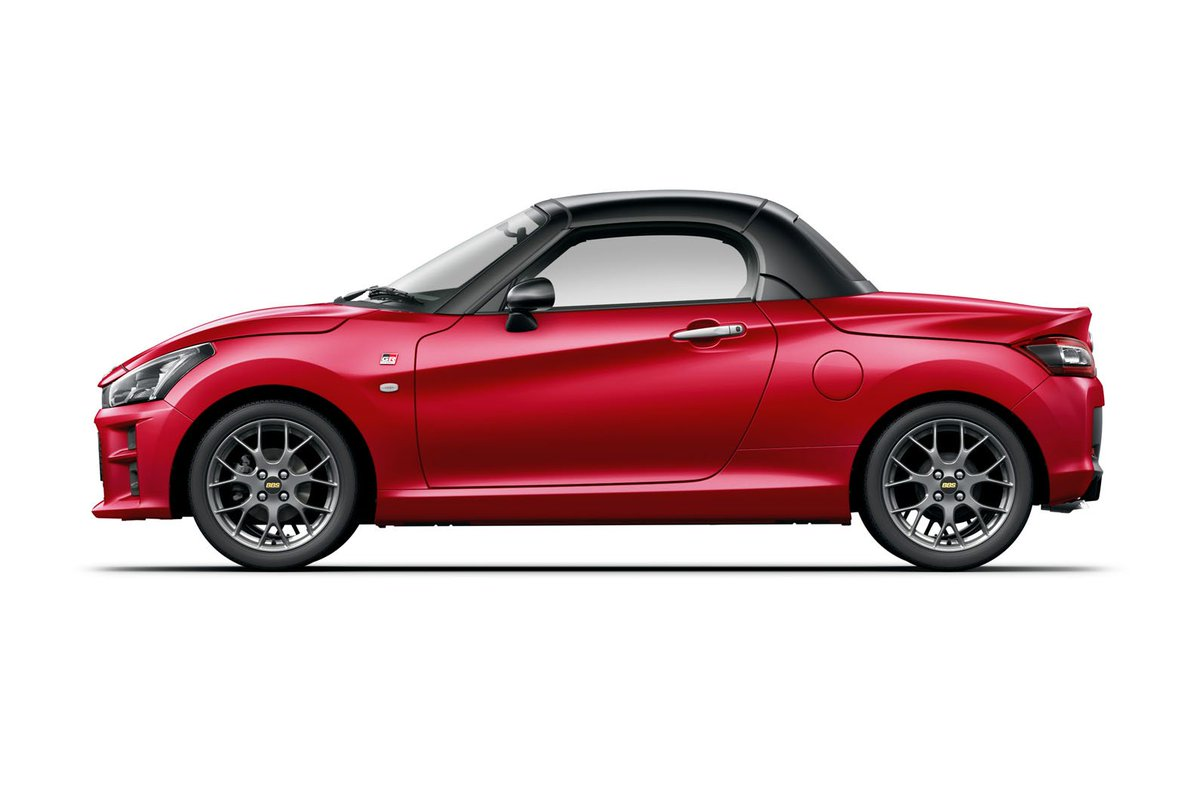 Toyotas perky GR Sport reworking of the Daihatsu Copen convertible is only available in Japan for now, but which colour would you have, given the choice? buff.ly/2ISoHMh