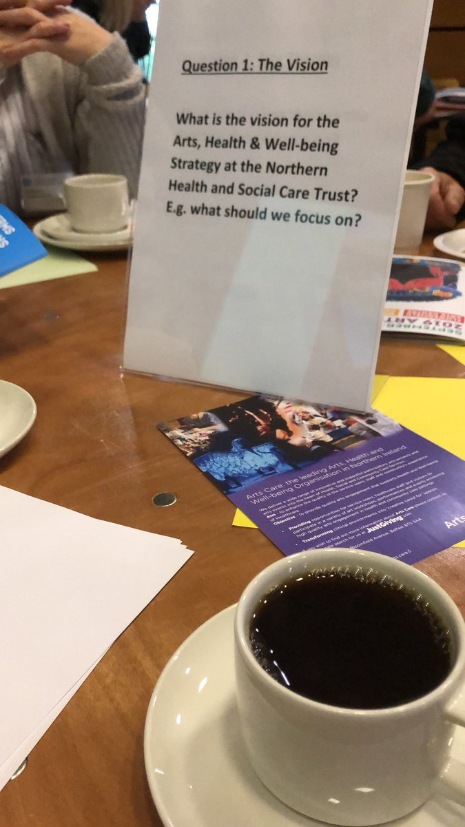 test Twitter Media - Developing an Arts, Health & Well-being strategy with the Northern Health & Social Care Trust @FlowerfieldArts this morning #artsmatterni #artscare https://t.co/GCZ8ghN6Vz