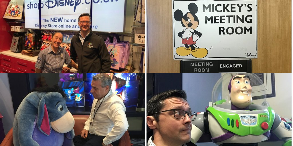 Great to be working with @WaltDisneyCo (they let us play with the toys!). Weve developed bespoke mental health awareness courses for their managers. A forward thinking company when it comes to looking after the wellbeing of their employees. #wellbeing #mentalhealth