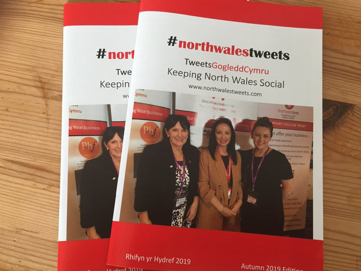 So, who'd like to appear on the front cover of our winter edition of #northwalestweets ? @Sandra_FSB @XoverRadioCalon & @StephDonoghue grace our autumn cover from September's @MingleBusiness #mbc19 conference