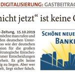 """Image for the Tweet beginning: """" 'Bitte nicht jetzt' ist"""