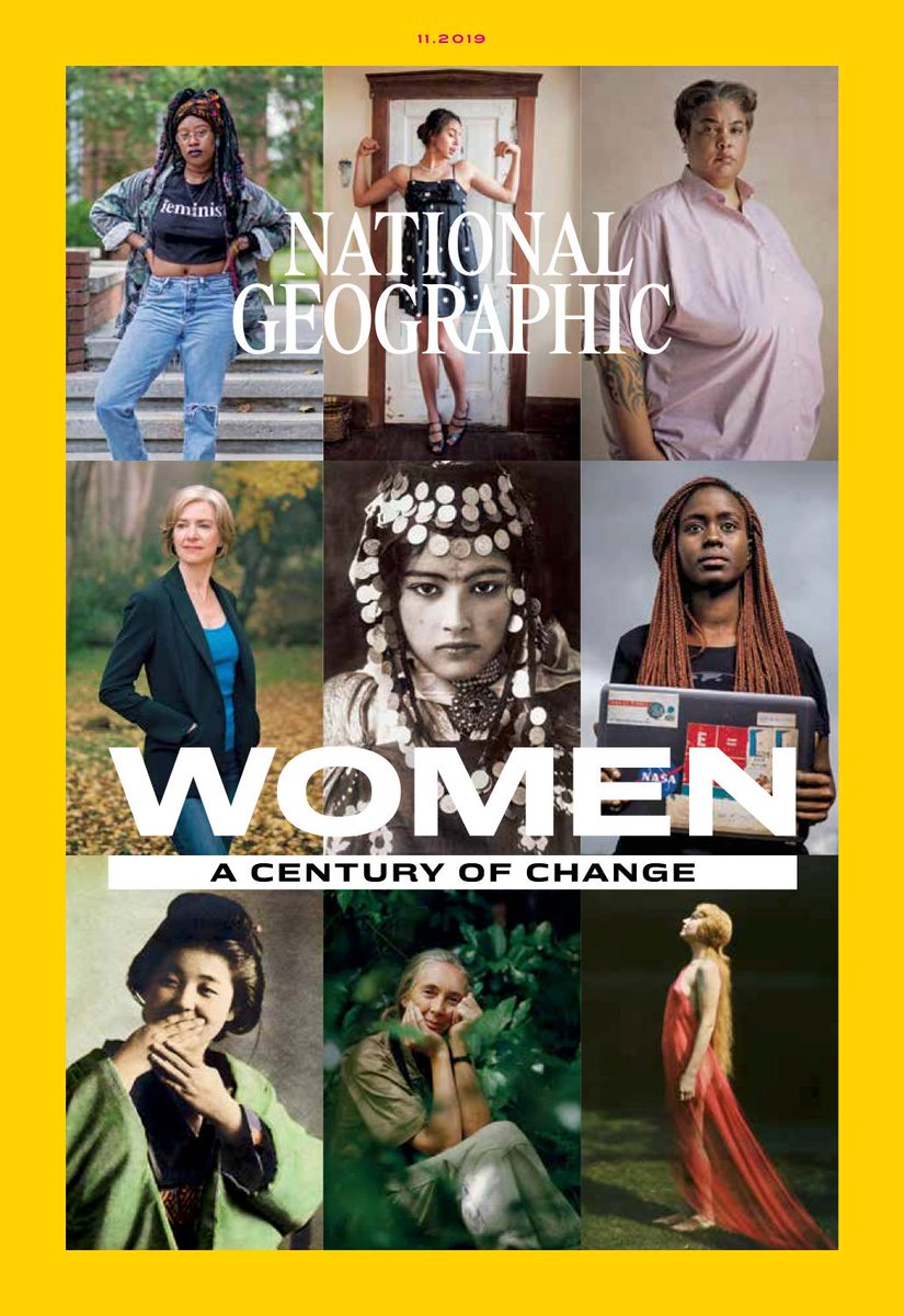 In our November issue, we're launching a year of celebrating the power of women's voices and how they're changing the world. Use #NatGeoWomenofImpact to share how a woman in your life has empowered you—and tag a friend to do the same! https://on.natgeo.com/35wWWCp