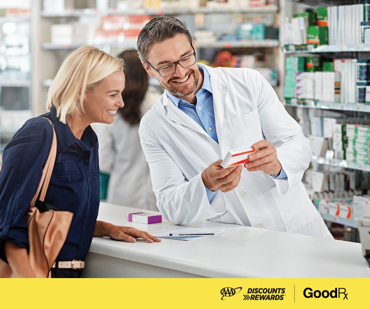 Visit  to find deeper discounts on your prescriptions with the new GoodRx program for AAA. #AAADiscounts #GoodRx #AAA