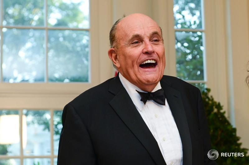 EXCLUSIVE: President Donald Trump's personal attorney, Rudy Giuliani, was paid $500,000 to consult on indicted associate's firm  via @karen_freifeld @AramRoston