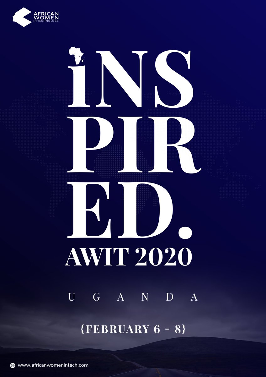 Muli Mutya Uganda!  We're so excited to be bringing this party to you! #AWITUGANDA20 is coming! We'll be hosting three days of amazing conferences, workshops and a pitch competition from February 6-8th. Grab your tickets via https://www.eventbrite.com/e/african-women-in-tech-uganda-awituganda20-tickets-76781793411…. See you! #AWITUGANDA20 pic.twitter.com/nIWaOJ9C6d