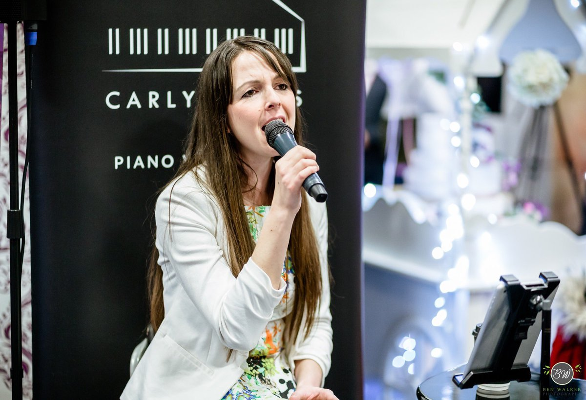 Thanks to Ben Walker Photography for a couple of snapshots from the day!  Did you see us at the #VenueCymruWeddingFayre on Sunday? We had a great day! Don't forget to secure your date with us! #weddings #weddingsinger #weddingpianist #weddingduo #northwalestweets @CelebrationEv