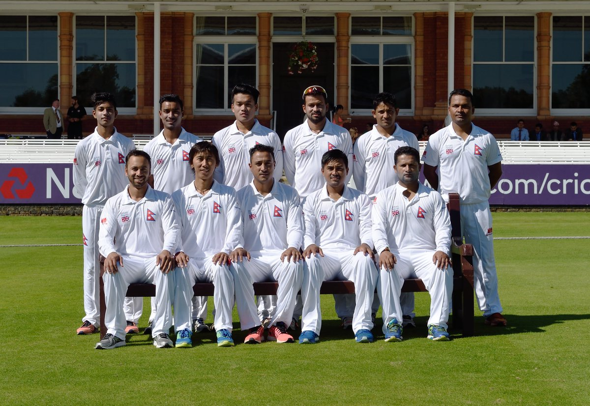 👏 Congratulations on your achievements as captain, Paras!Not forgetting leading Nepal at Lord's for the first time in 2016.#LoveLords https://twitter.com/paras77/status/1183993871228784641…