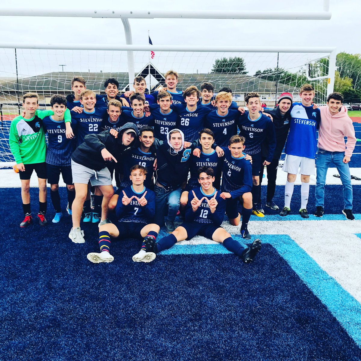 GAME DAY! District Semifinal   Vs Seaholm @ 5pm  Game will be played at Northville High School (6Mile)  $6 to get in. No passes.  Be there! <br>http://pic.twitter.com/JGrQ7eEo7p