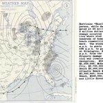 Image for the Tweet beginning: #OTD in 1954, Hurricane Hazel