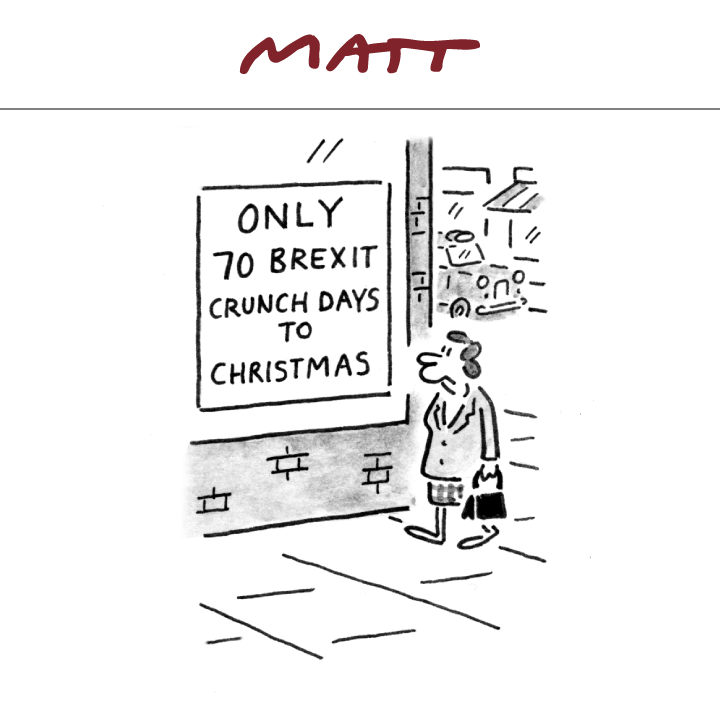 My cartoon for tomorrows @Telegraph #Brexit