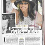 Image for the Tweet beginning: Remembering My Friend Jackie Carly's exclusive