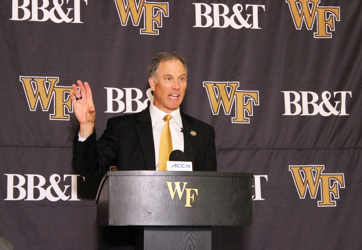See what @CoachClawson said during today's weekly press conference. 🔗 deacs.info/2ON87Rs