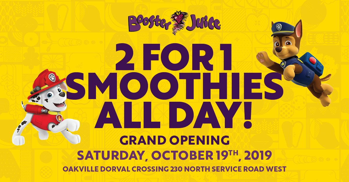 Booster juice peterborough