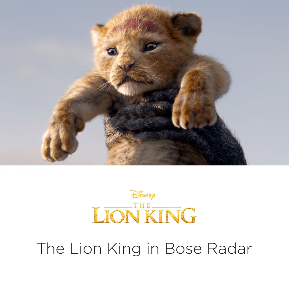 Experience the magic of Disney's Circle of Life & Hakuna Matata in immersive, 360-sound. The Lion King in Bose Radar, out now. https://bose.life/2ONqGFp   The Lion King is available on Digital & Blu-ray™. Soundtrack available now. © 2019 Disney