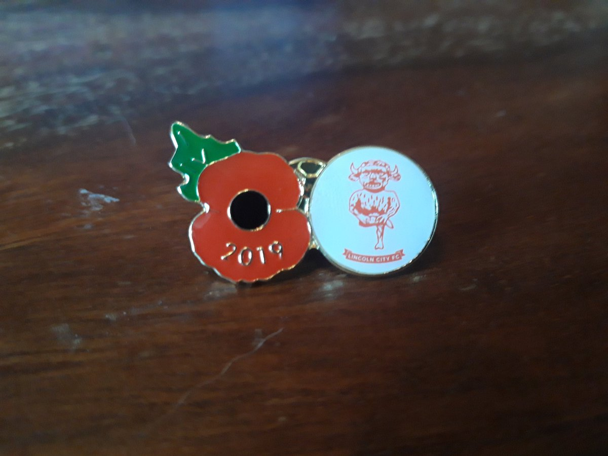 This years Imps poppy badge. #WeWillRememberThem <br>http://pic.twitter.com/Kp1qxb3Fal
