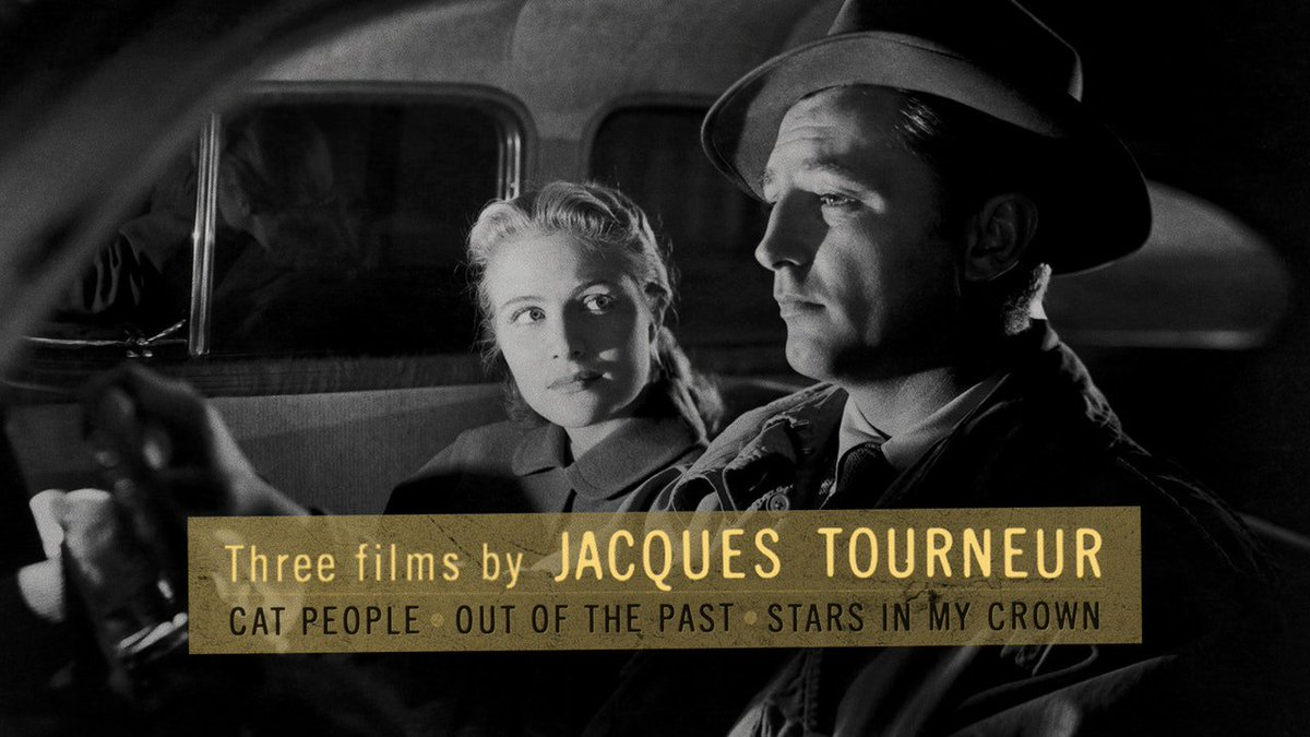 Jacques Tourneur was a master craftsman whose shadowy visual palette served him well in a number of genres, and whose staunch humanism often shone through the B-movie material he worked with. criterionchannel.com/three-by-jacqu…