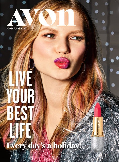 NEW TODAY - The Book by Avon Campaign 23 featuring Avon Be Bold Lipstick!   #holidaybeauty #lipstick #holidaygifts #holidaymakeup