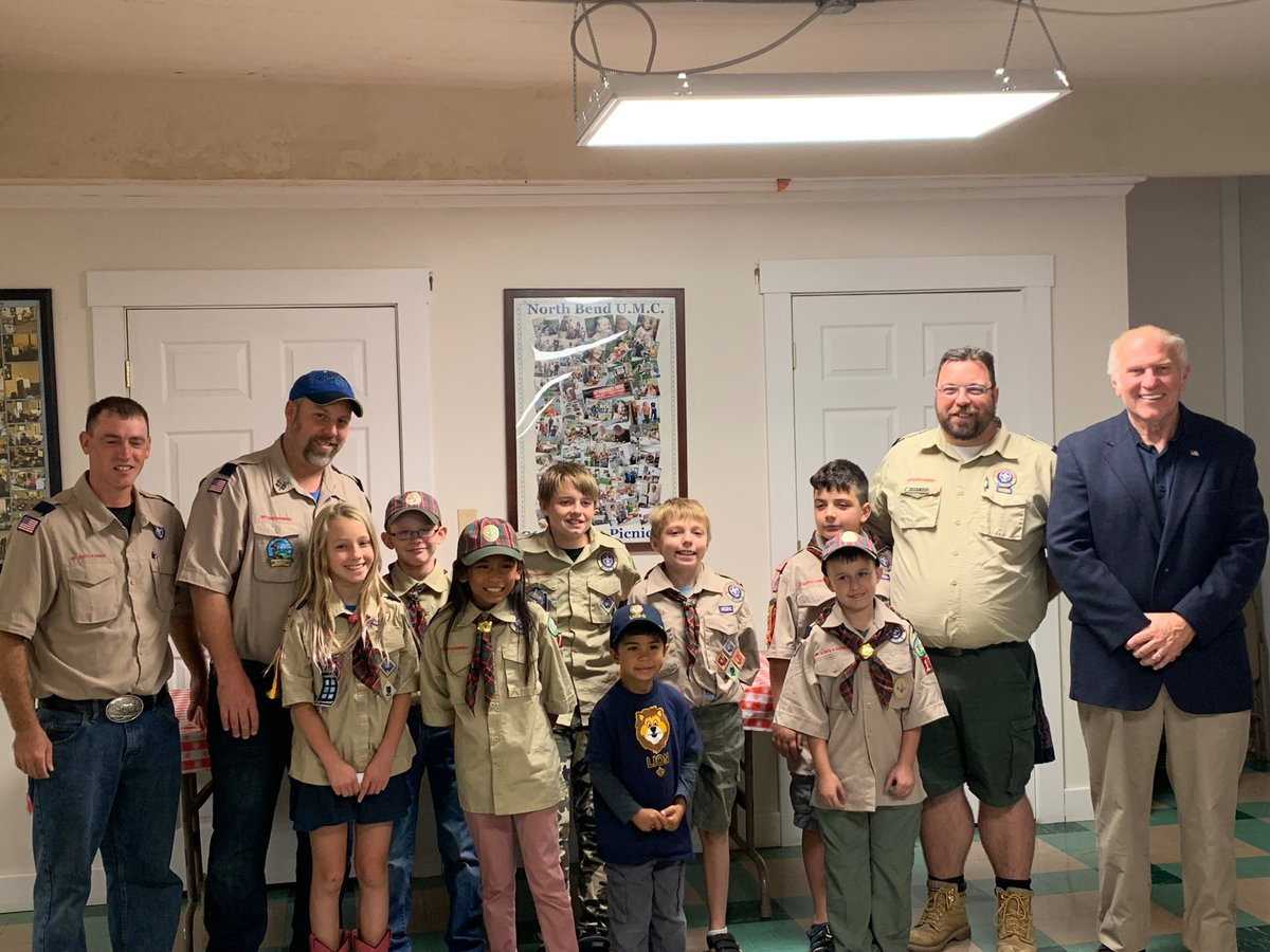 Over the weekend, I had the pleasure of speaking to Cub Scout Pack 178 in the North Bend neighborhood. Thank you all for the questions. Keep up the great work.