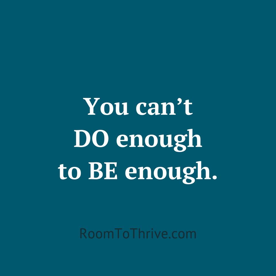 You are enough 🧡 #TuesdayThoughts