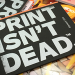 Image for the Tweet beginning: We know that print is