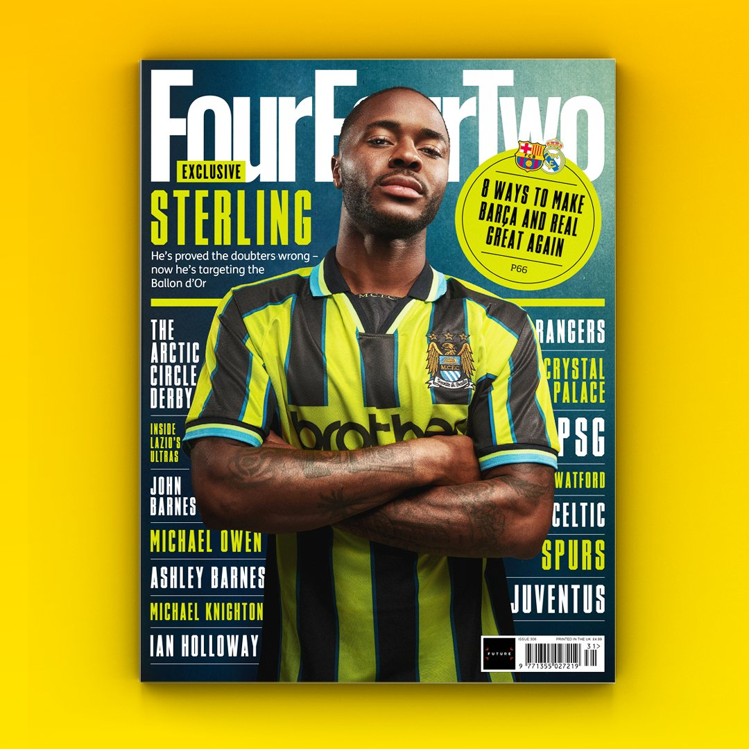 """💭@sterling7 - """"I think people understand me now. They see the truth and ignore what they have heard before.""""  For this month's cover we sat down with Raheem to chat about criticism, growing at Manchester City, performing for England, and Euro 2020 - out October 22nd. https://t.co/vujIGlmIux"""