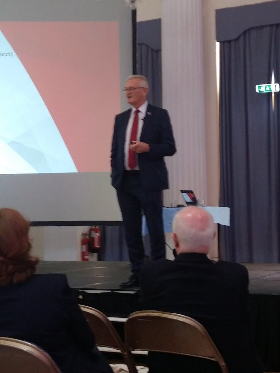 #ICAEW member Rick Sturge closes today's Growing Gloucestershire conference with keynote speech on his involvement as CEO of the awesome @Bloodhound_LSR, (1 mile in 3.6 seconds!) housed in #Gloucestershire#technology #GG19