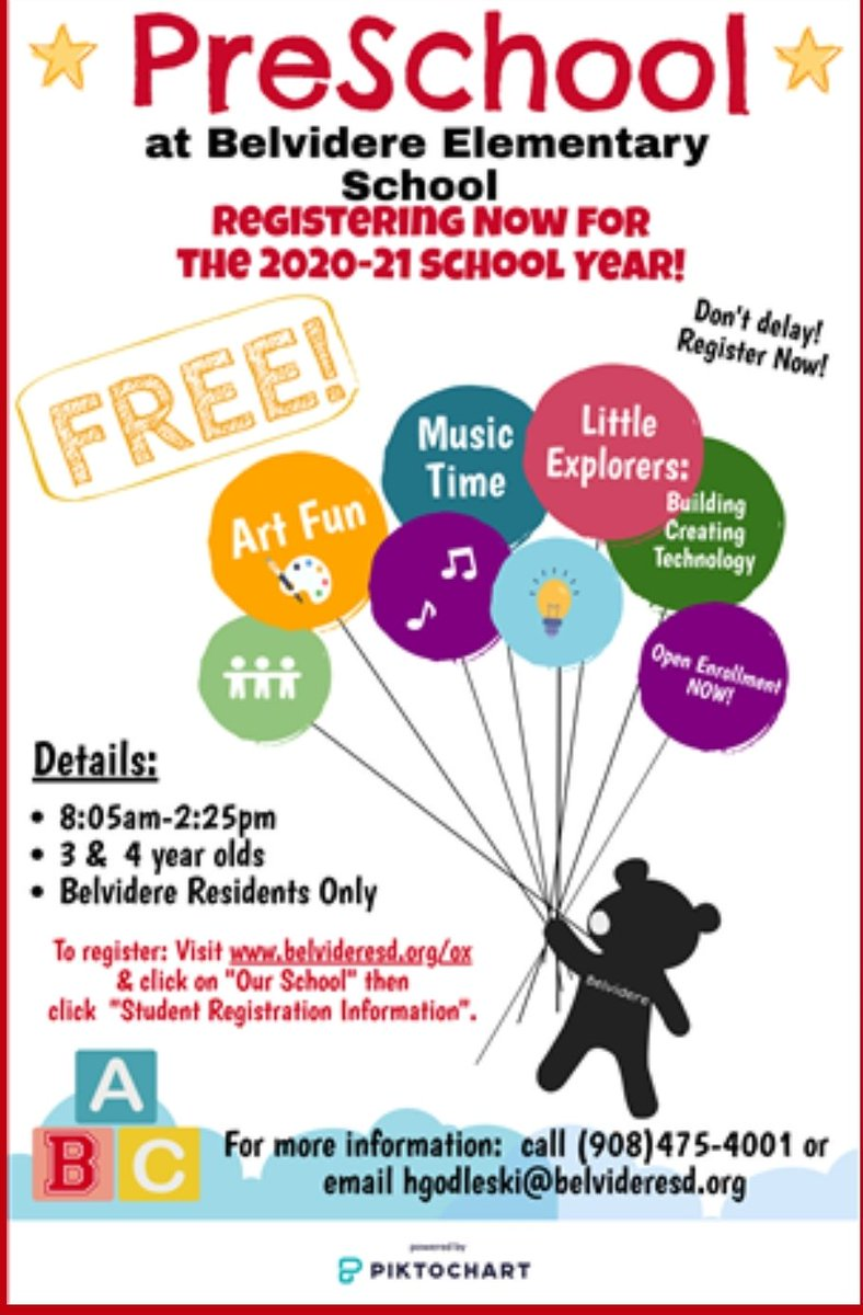 Preschool Registration is now open for the 20-21 school year!! <br>http://pic.twitter.com/CuoVMzMd8K
