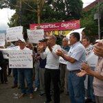 Image for the Tweet beginning: #15Oct #Táchira #Protesta Trabajadores de